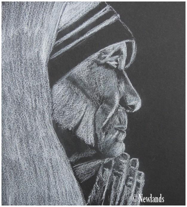 Mother Teresa by jinsei